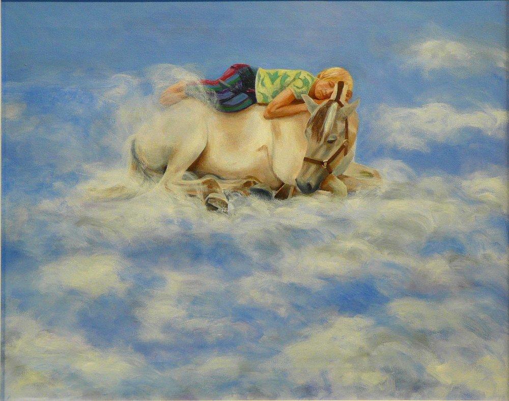 """Hendrik"" Oil on Canvas 20""x16"""