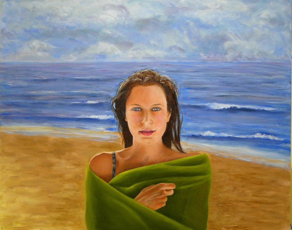 """Tatiana"" Oil on Canvas 30""x24"""