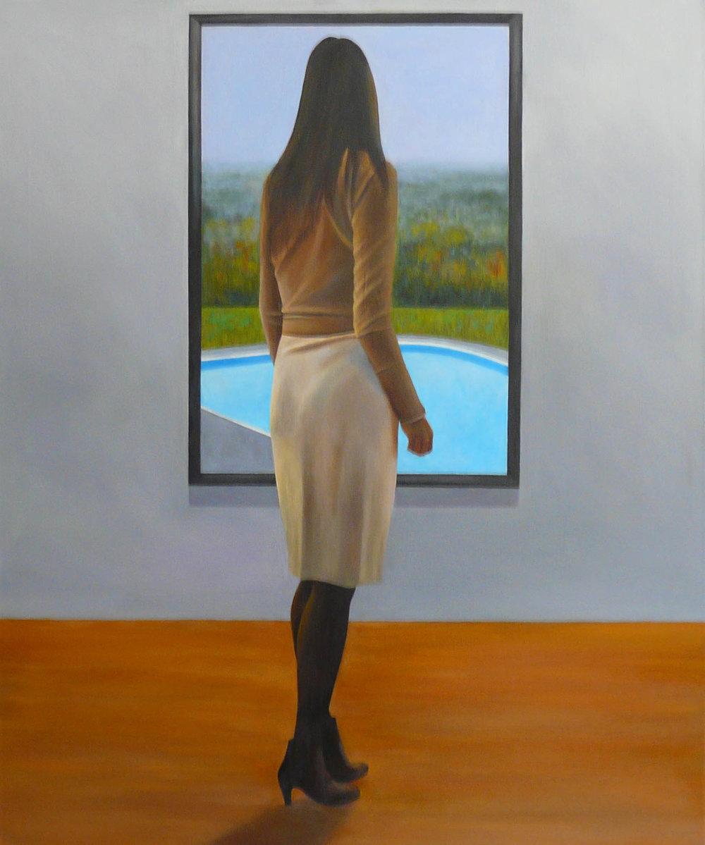 """""""Luce"""" Oil on Canvas 48""""x36"""""""