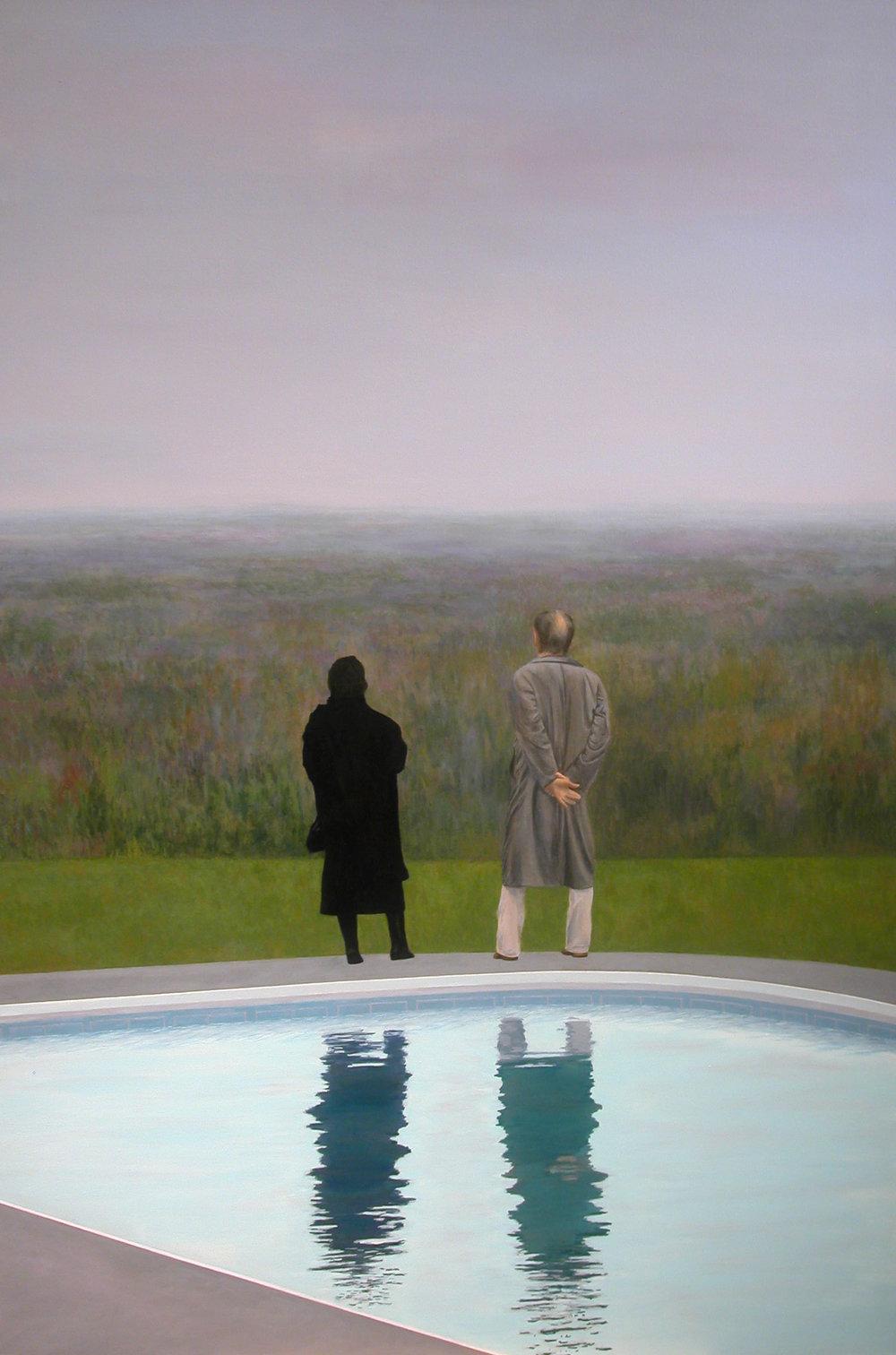 """""""Marie&Louis"""" Acrylic on Canvas 40""""x60"""""""