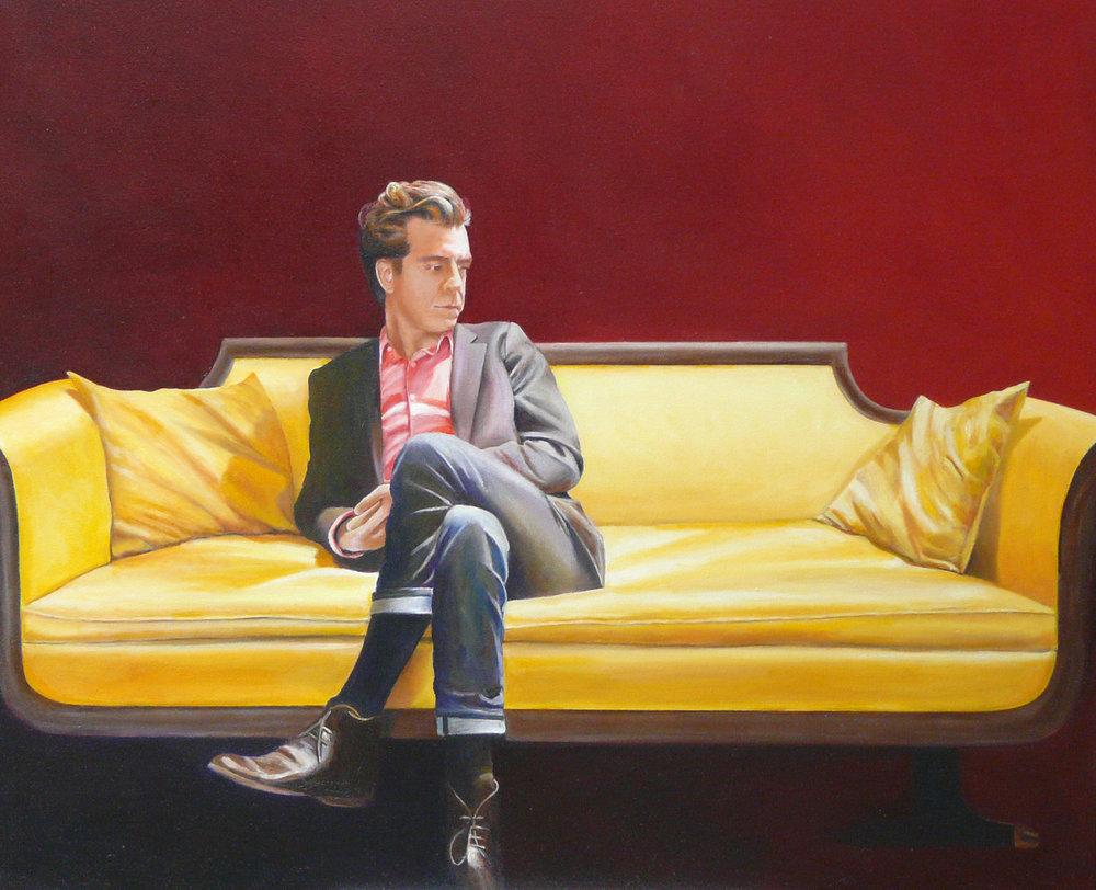 """""""Dustin"""" Oil on Canvas 36""""x30"""""""