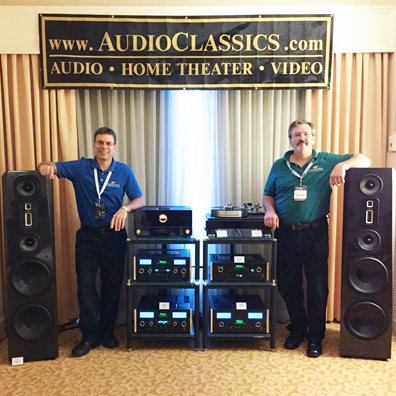 Founded in 1979 by audiophile Steve Rowell, Audio Classics has grown over the past 37 years into one of the largest McIntosh dealers in the world. Call 607) 766-3501 for more info today!