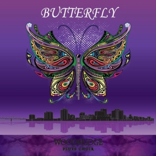 "The Woodbridge Flute Choir's album ""Butterfly"" is available for purchase now!"