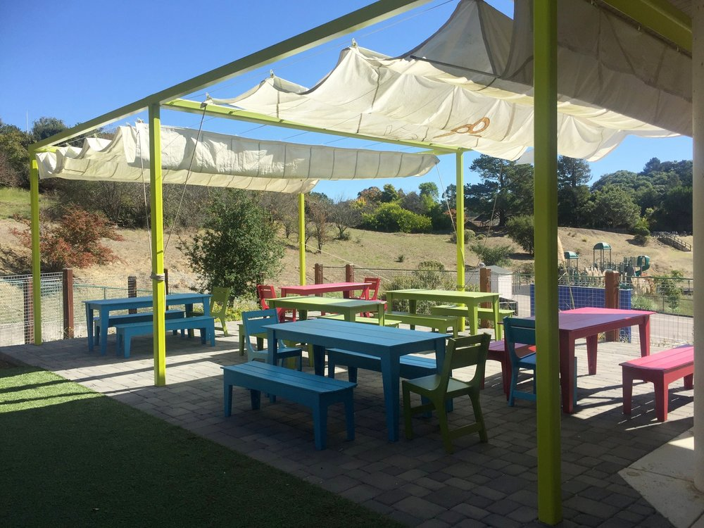 STUDENT-DESIGNED OUTDOOR CLASSROOM
