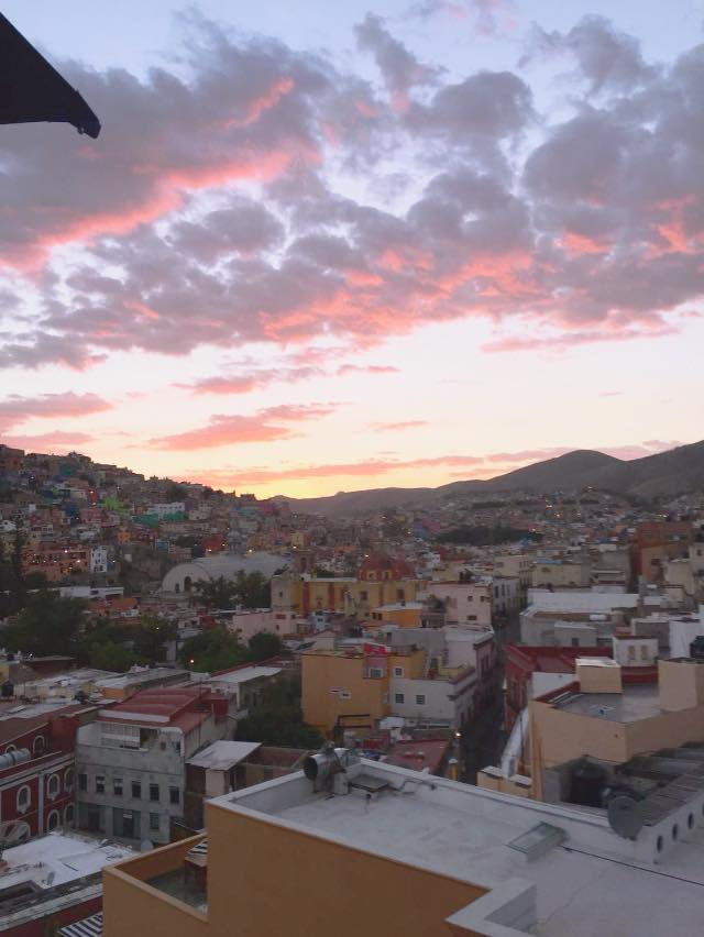 A view from our place in San Javier, Guanajuato City.