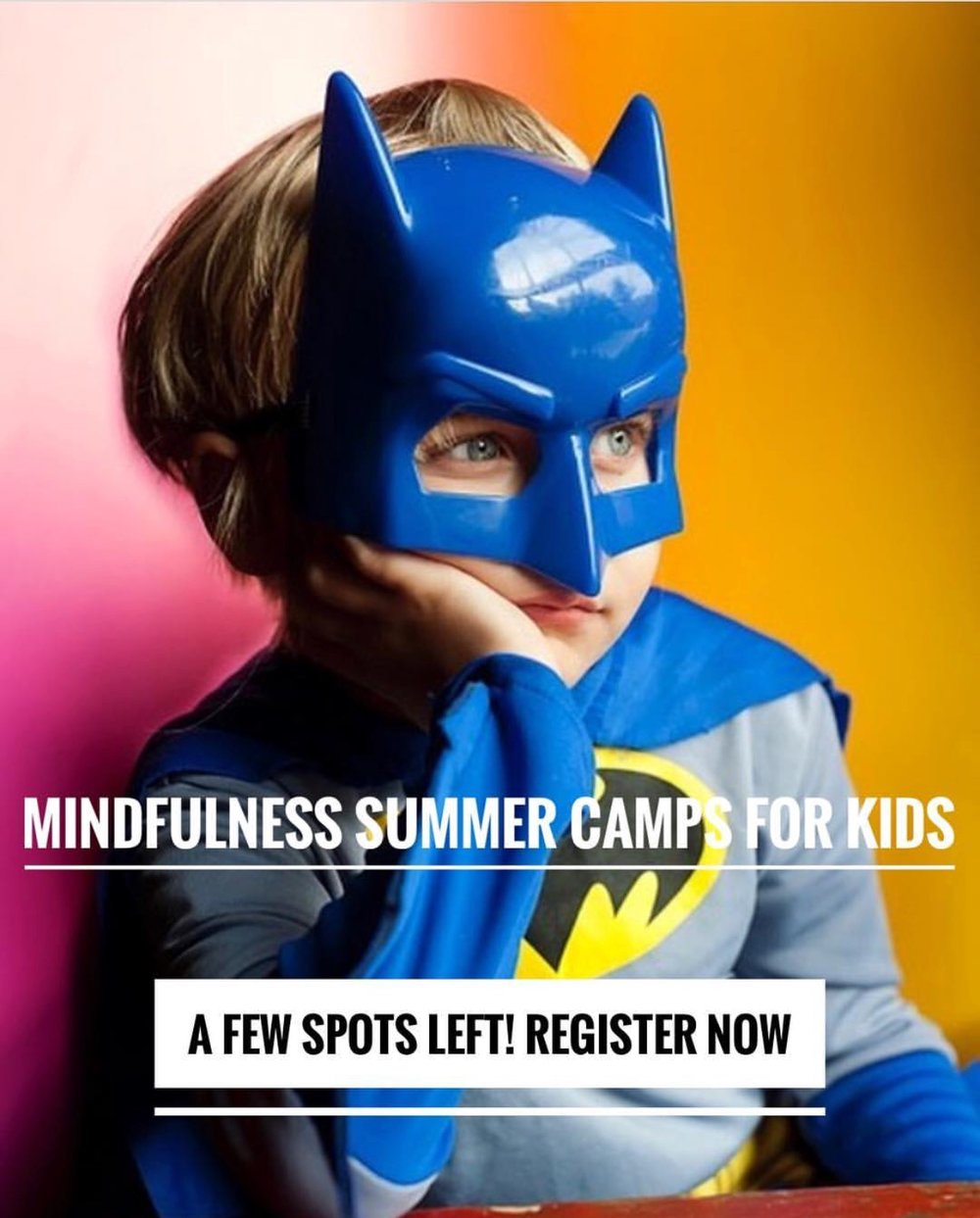 Beginning Mindfulness for Kids ages 5-10 (Inward Bound) - Tuesday, June 26th 9:00am-12:00pmORWednesday, June 27th 9:00am-12:00pmat Gathered and Grounded 533 W. Howard Ave. Decatur, GA**Carpool services are available from East Cobb/Marietta
