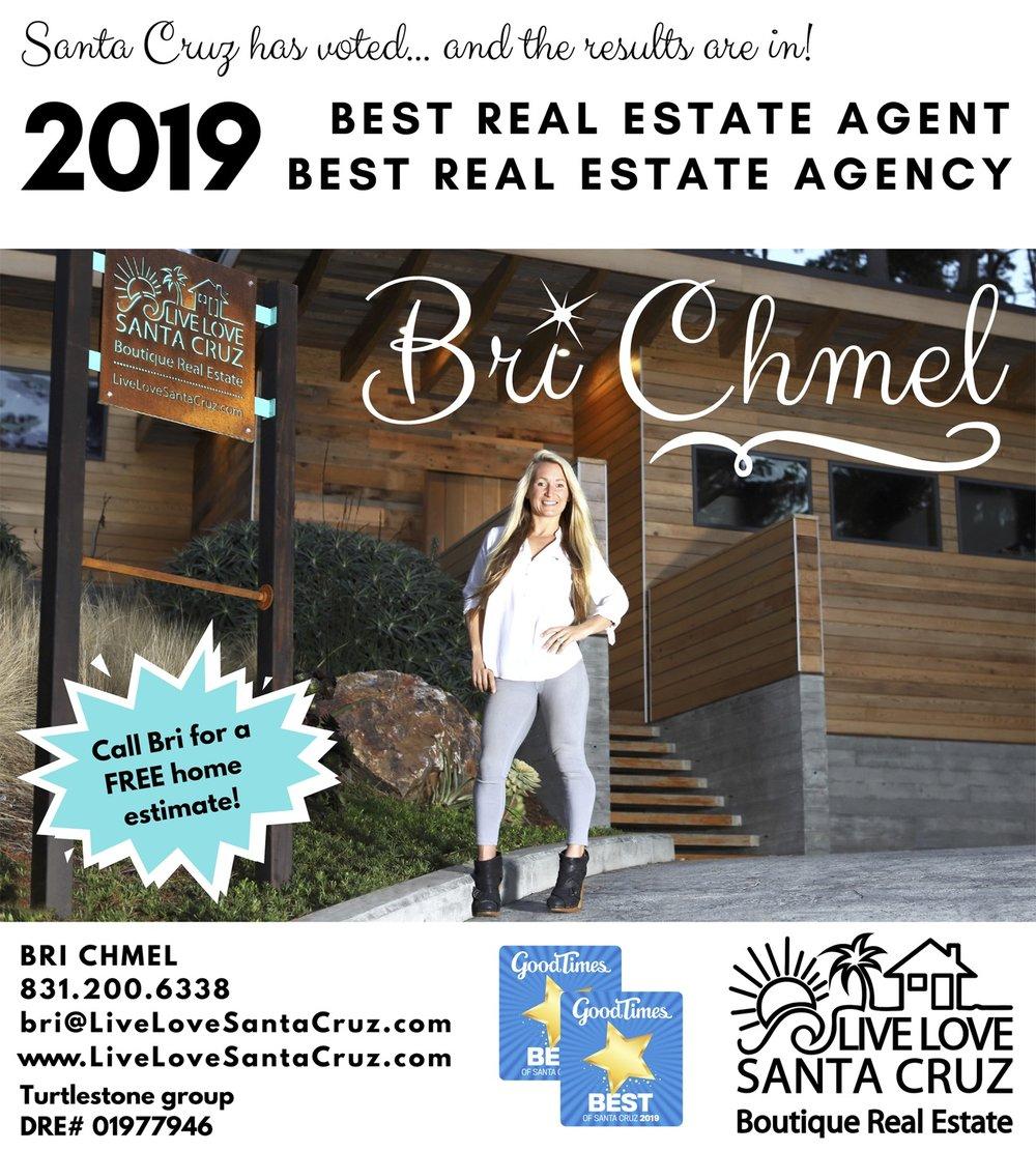 Good Times 2019 Best Of Real Estate Santa Cruz