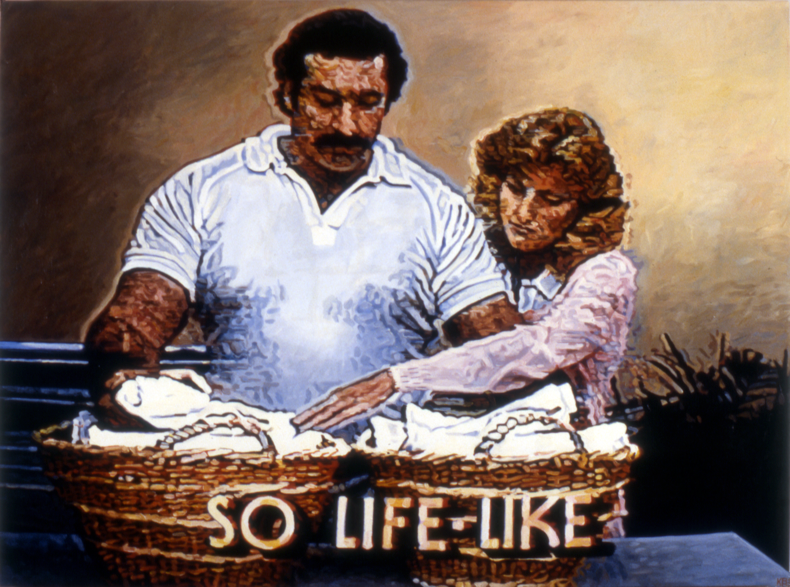 """Still Life,"" 1985; Oil on Canvas; 36""X48"""