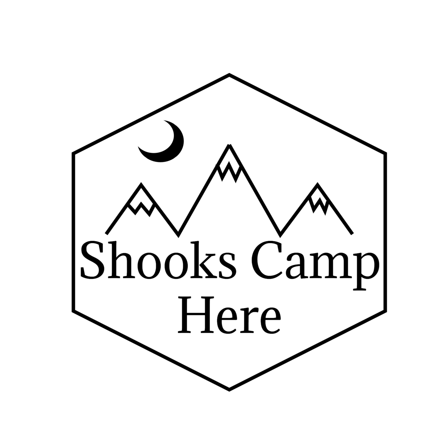 Shooks Camp Here