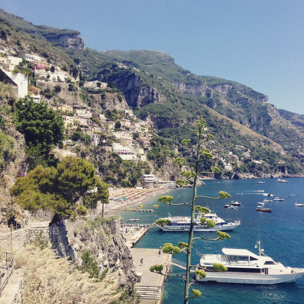 Boating games on the Amalfi Coast