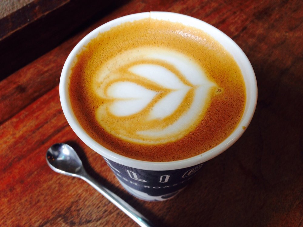 Good morning cappucino from Intelligentsia