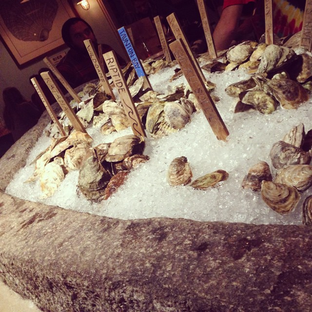 Eating an oyster is like kissing the sea...Eventide would know.