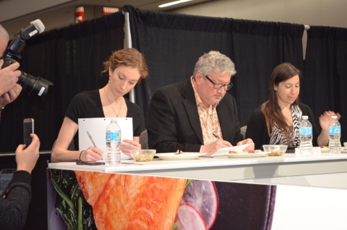 Shh...deliberation at the judges table... PC: IUC