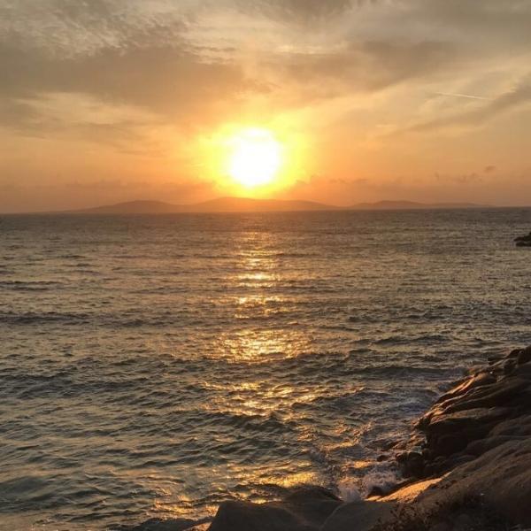 Sunset set at Kapari Beach