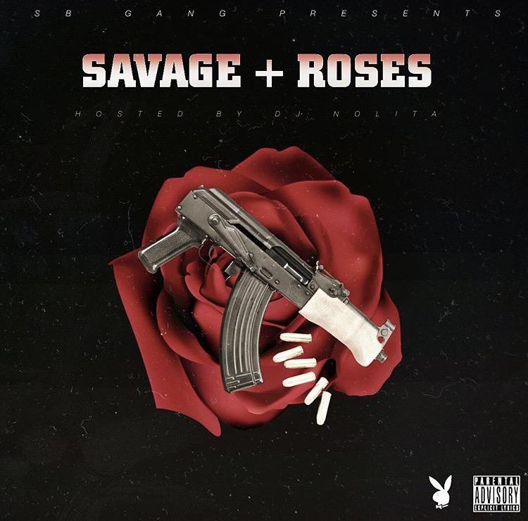 Savage Ballas Presents   Savage + Roses              Hosted by DJ Nolita Cover/art direction: @deadmonbernz