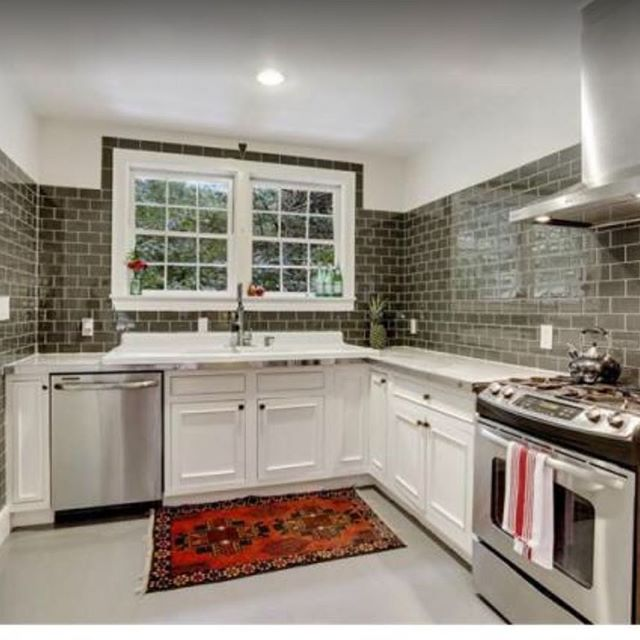 Looking at house listings and saw this cutie and had share a screenshot. What a great job on a mid century ranch! Often renos look so boring and safe but this shows ya that doesn't have to be the case. #itsalreadysold #MeriwetherDesignGroup . . . . . . #boss #love #interiordesign #interiordesigners #inspiration #beautiful #fun #instagood #dreamhome #nature #gooddesign #photooftheday #picoftheday #instadaily #home #fashion #igers #interiordesign #glamous #designinspiration #pow #kitchen #candles #workitout #truth