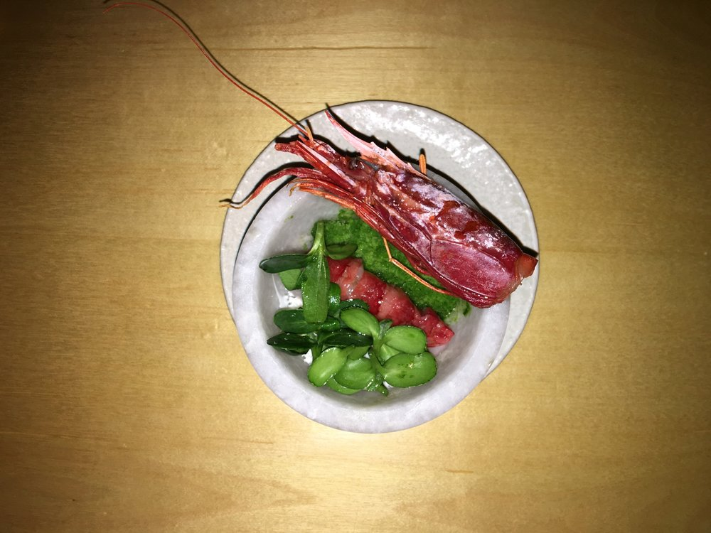 Spanish Shrimp + French Sorrell