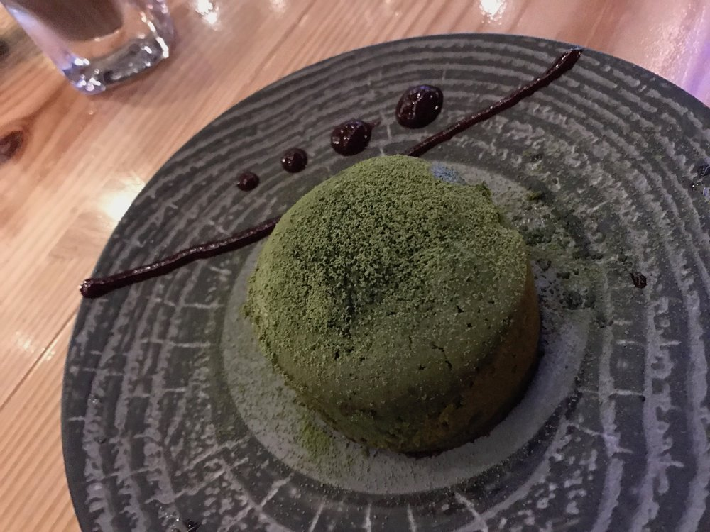 Green Tea Panna Cotta