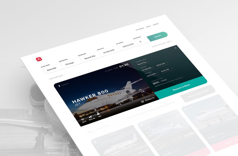 Initial Booking Concept