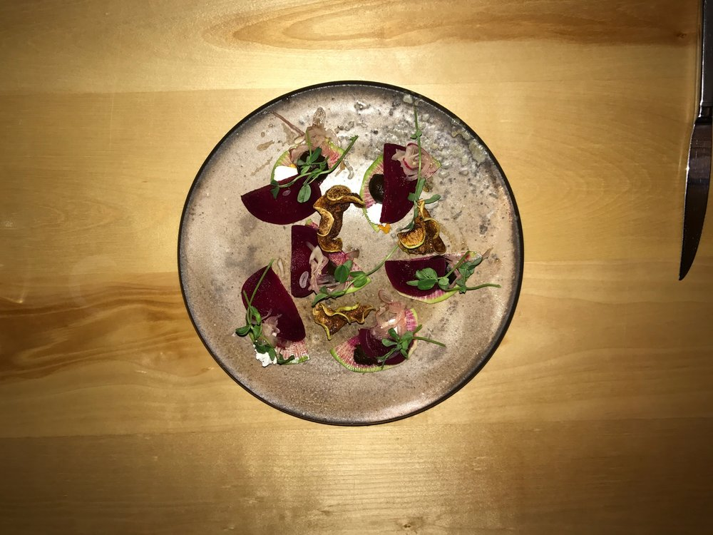 Beet Salad From Above