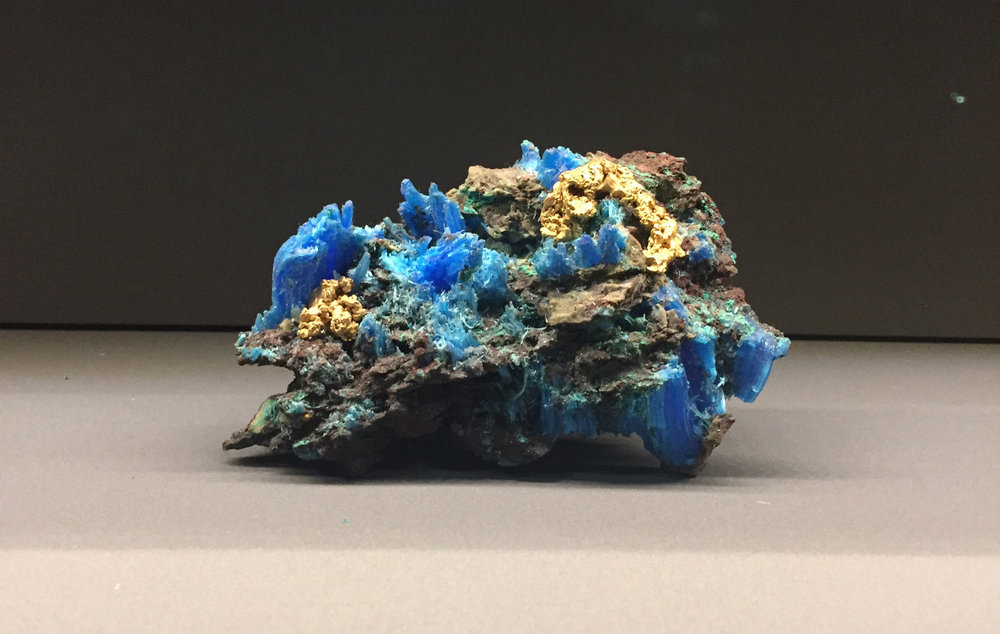 Semi-precious stone salvaged from the Wreck of the 'Unbelievable' - Damien Hirst 2017