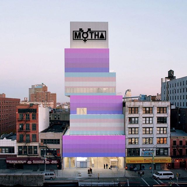 """This Thursday, January 17, join the @newmuseum of Transgender Hirstory & Art (@m_o_t_h_a) for """"Speculative Monuments: Show and Pray Tell."""" . Artists commissioned for Chris E. Vargas's (@chrisevargas) and MOTHA's """"Consciousness Razing: The Stonewall Re-memorialization Project""""—including Chris Bogia (@chrisbogia), Devin N. Morris (@devinnmorris), and D'hana Perry (@battyjack_dj)—will discuss their proposals for new monuments to commemorate the 1969 #Stonewall riots. For tickets and more information, please visit @newmuseum link in bio."""