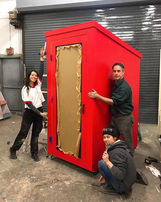 The @SUNBUNKER team killing it as usual! Just finished building an interactive booth for the ACLU 100 Year Experience Tour, which kicks off at next week at SXSW 2019! 📍Check out the booth in a city near you • National tour cities listed on the ACLU website 💻 • • • • • #BuiltAtFoundersLab #SUNBUNKER #ACLU100 #SXSW #ACLUSXSW #FoundersLab #DesignedAtFoundersLab #FoundersLabNYC #Brooklyn #Fabrication #FabricationSpace #BrooklynVenue #DesignStudio #WorkSpace