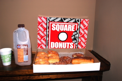 Square Donuts, simply the best.