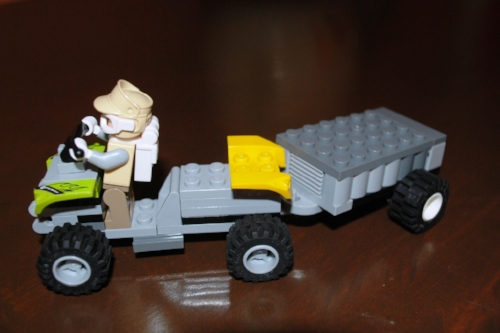 Mason's Lego creation.