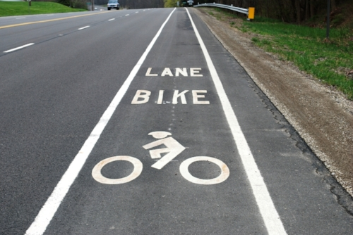 We love bike lanes. They are second only to dedicated pedestrian/bike trails in our opinion