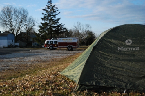 Camping at the Biglerville Fire Department