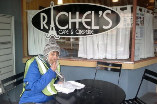 Rachel's Cafe and Creperie. A bit of a Lancaster legend