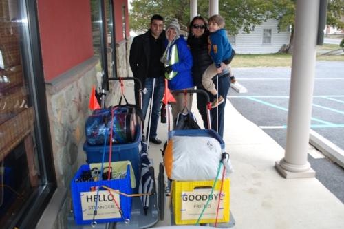 Saying goodbye to Raavi, Megan, and Remi