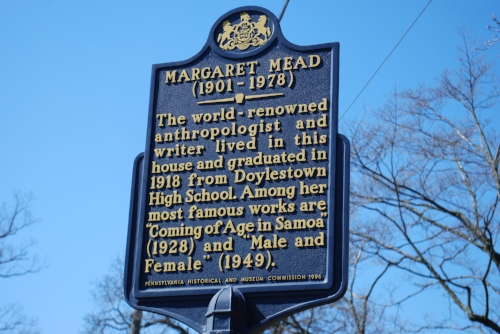 A history lesson for those, like John-Michael, who have no idea who Margaret Mead was.