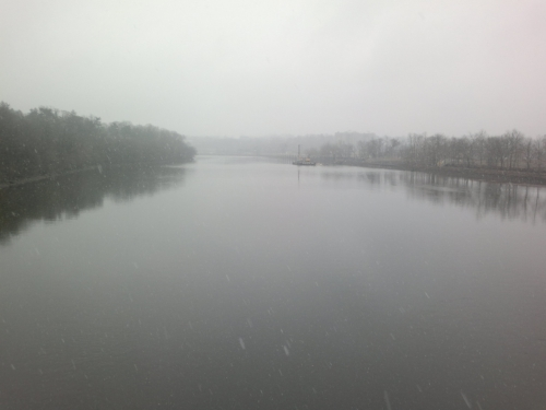 Crossing the Raritan River