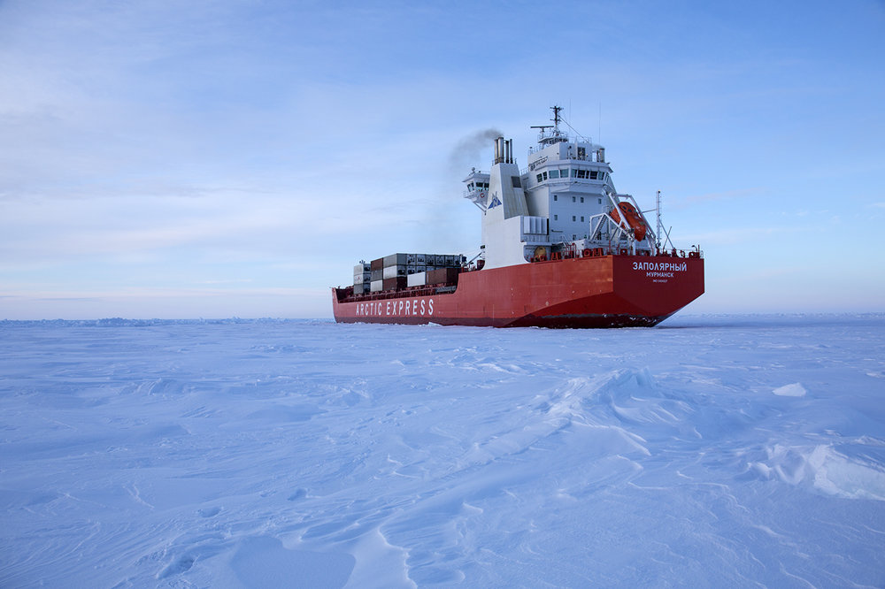In the Kara Sea