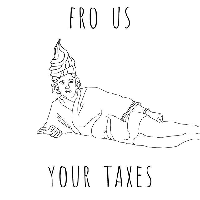 Anyone need a sign for today's #taxmarch? #notmypresident #protestart #frousyourtaxes #resist #showusyourtaxes