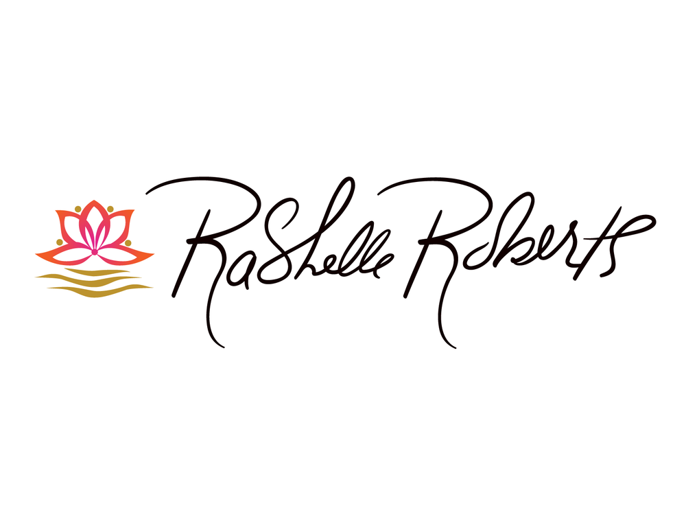 The Logo includes her Handwritten Signature as the Font