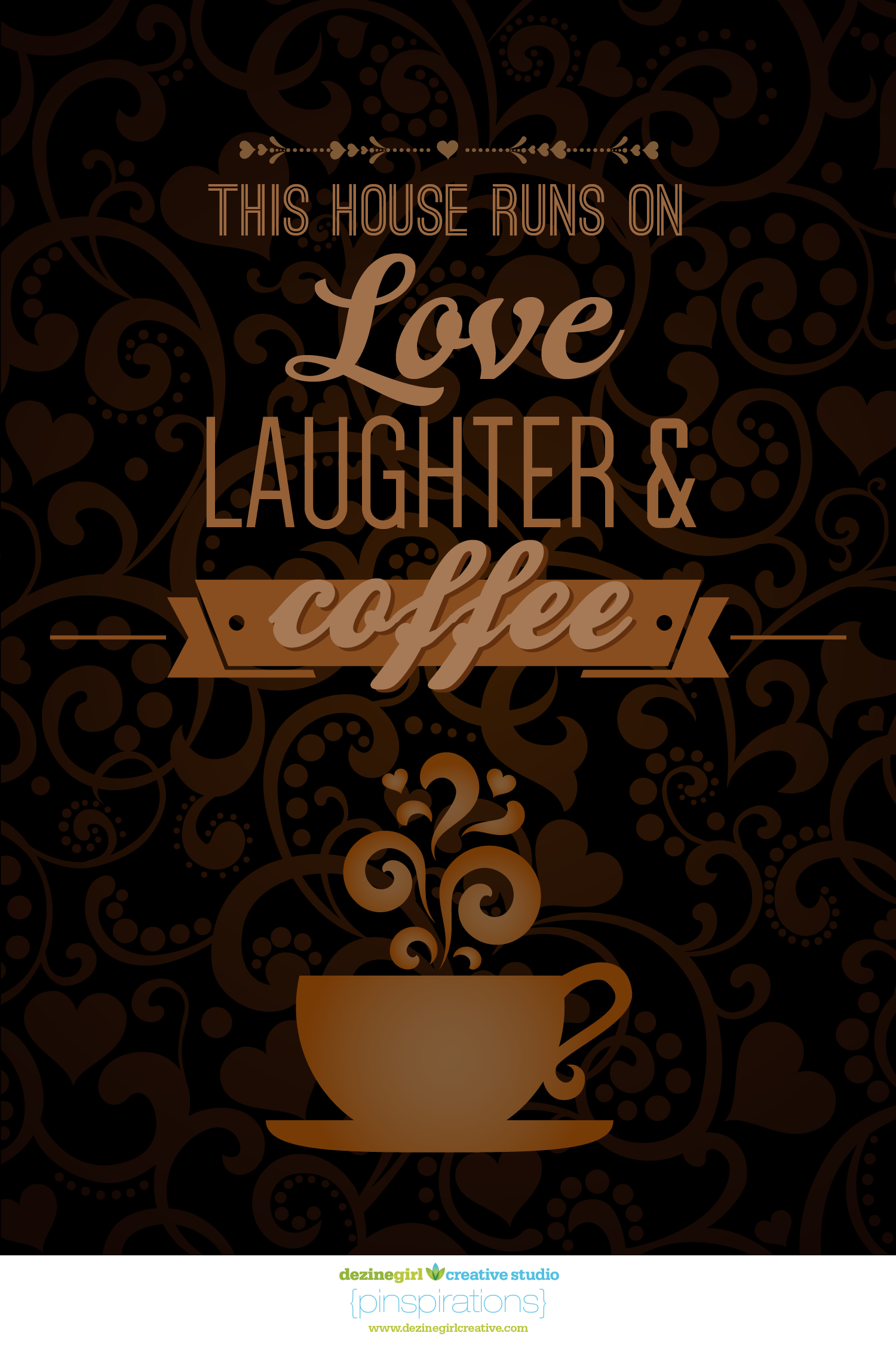 love, laugher & coffee