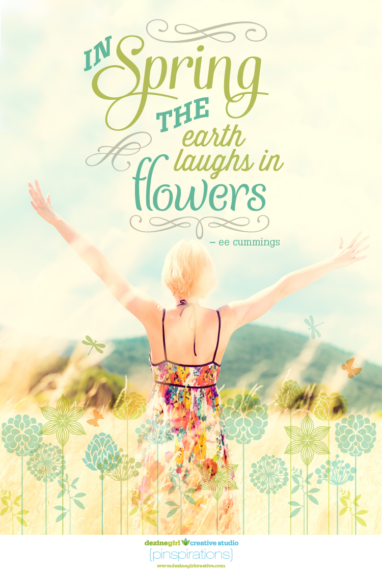 Spring Brings Happiness –@dezinegirl creative studio