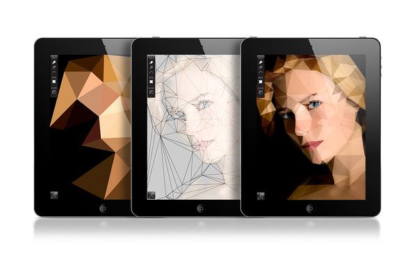 Poly ™ - Polygon Art for iPad
