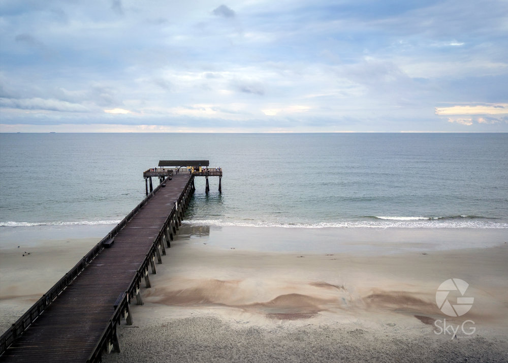 Aerial Photography - Tybee Island Pier