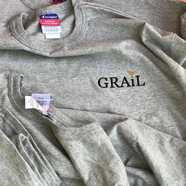 Grey tee restock check the link in bio and hit that follow button @grail_boutique . . #getyourgrail #grailpopupshop #stragg #Legitreseller #grailmerch #nikesdaily #yeezy #nmdr1 #jordansdaily