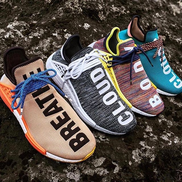Adidas X Pharrell Human Race Sizes 5-14 $800.00 If interested DM @grail_boutique