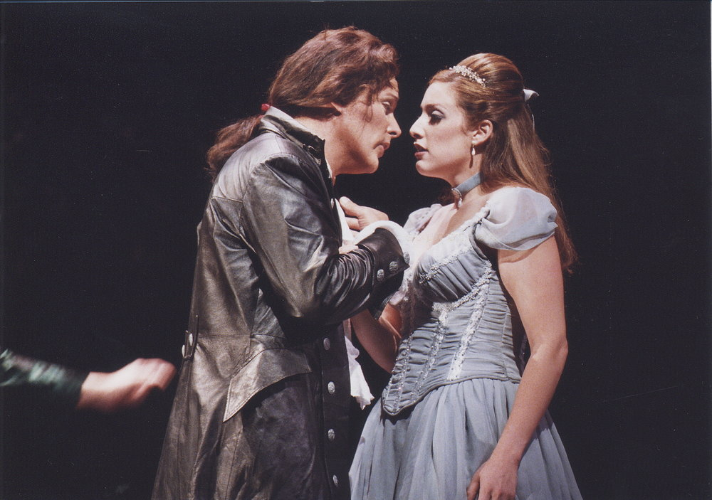 as Zerlina with Jeff Mattsey, Don Giovanni, Central City Opera (photo by Mark Kiryluk)