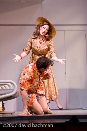 as Tina with Dean Kokanos, Flight, Pittsburgh Opera (photo by David Bachman)