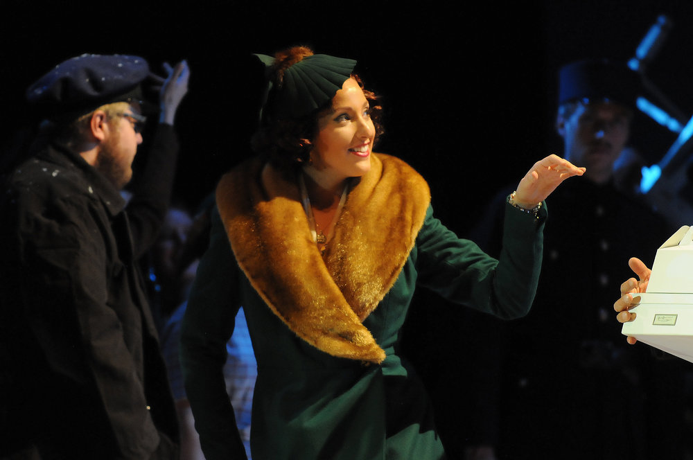 as Musetta, La Boheme, Central City Opera (photo by Mark Kiryluk)