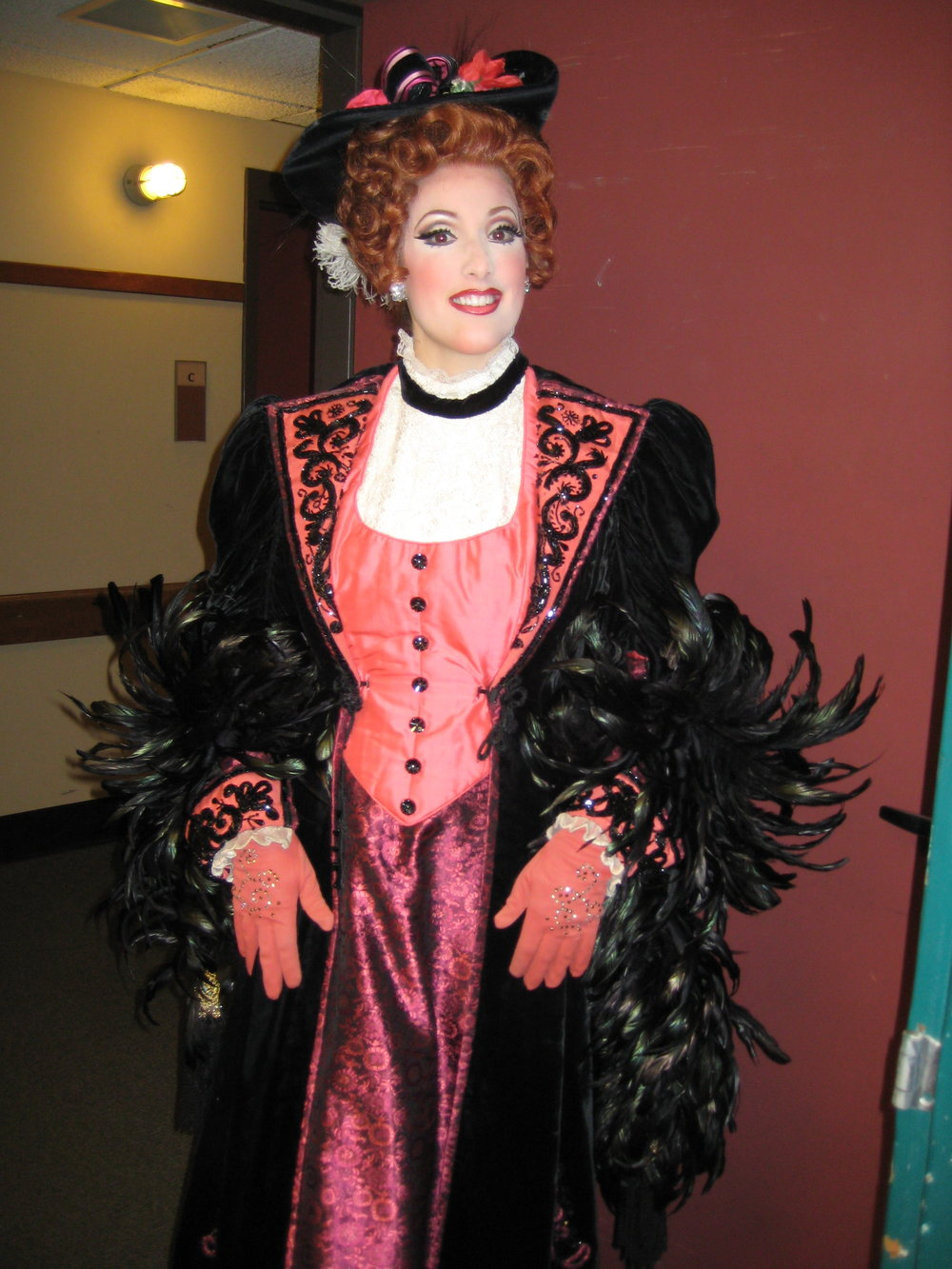 as Musetta in La Boheme with Pittsburgh Opera