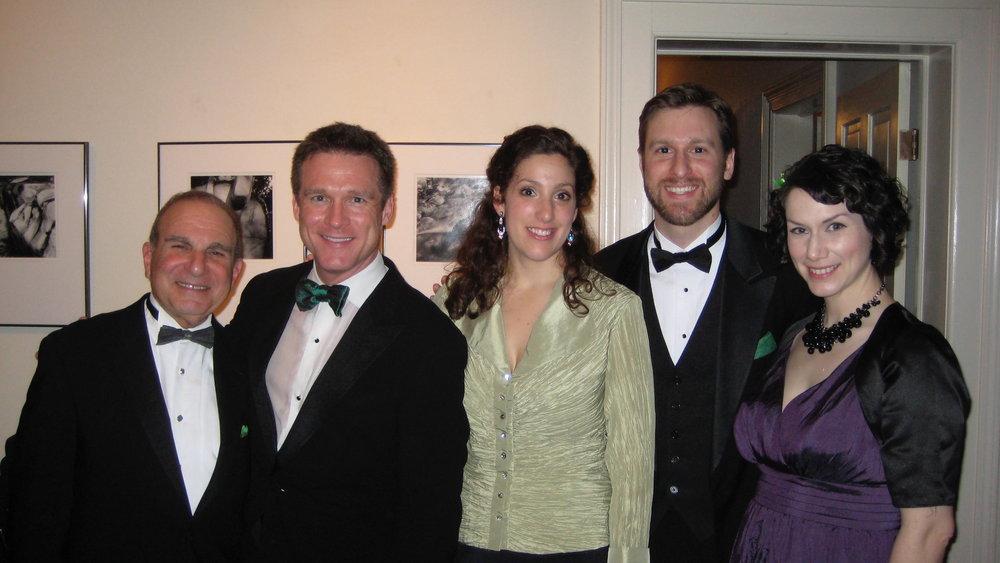 with pianist Martin Katz, tenor Scott Murphree, baritone Jesse Blumberg and mezzo Liza Forrester, Kerrytown Concert House