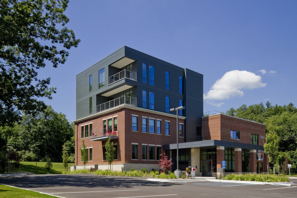 660 ada mixed use building renovation architecture photography